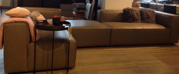 Ledersofa,Ecksofa,Couch,Leder,Sofageradliniges Sofa,Designersofa ,Used-Design, B&B,Cor